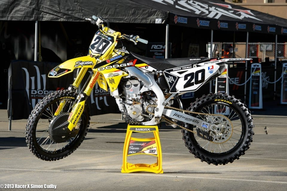 Broc Tickle Dodge Graphics Kit