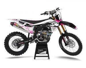 Kawasaki Custom Dirt Bike Decals