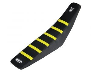 Yellow Ribbed Seat Cover