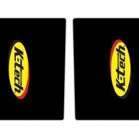 K Tech Upper Fork Sticker Graphics
