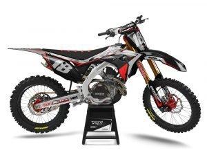 Custom Honda Motocross Graphics UK
