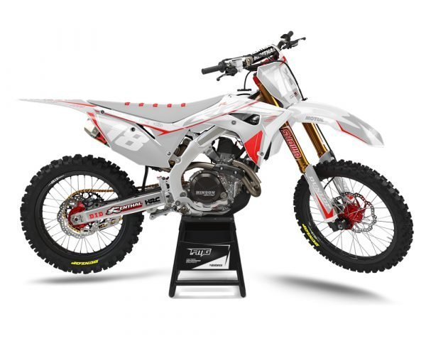 Custom Honda Motocross Graphics