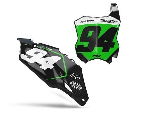 Green Kawasaki Motocross Backgrounds