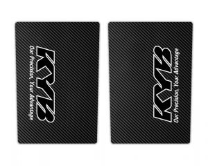 Black Carbon KYB Suspension Stickers