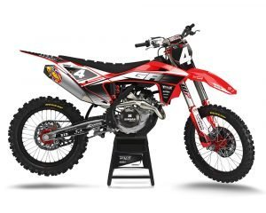 Custom Gas Gas Dirt Bike Graphics
