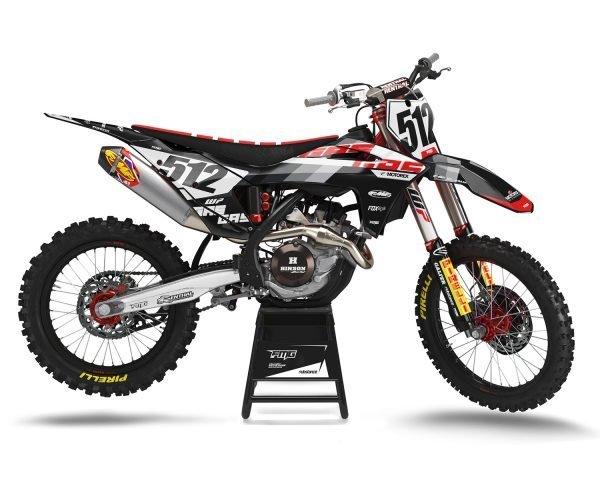 GAS GAS Black Motocross Decals