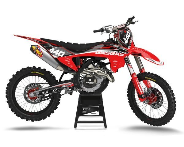 GASGAS Red Race Graphics Kit