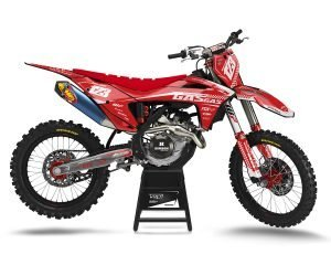 Red Motocross Decal Kits