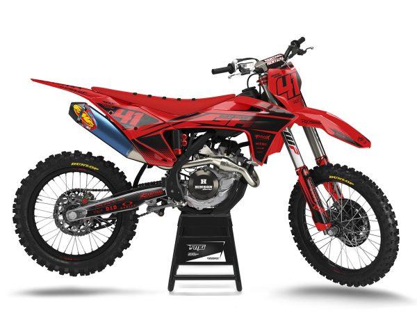Black Red GAS GAS EX250 EX300 EX350 EX450 EC