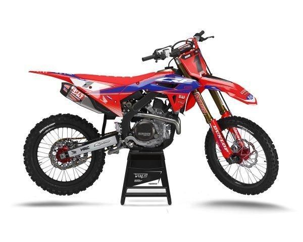 Blue CRF450 2021 Motocross Decals