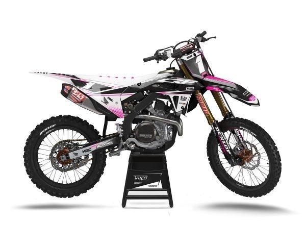 Pink CRF250R Motocross Decals