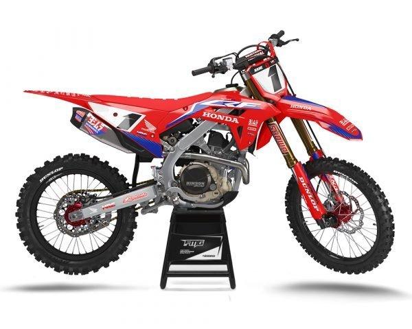 Honda Factory Roczen MX Graphics Kit