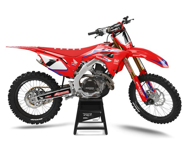 Honda Red Factory MX Graphics