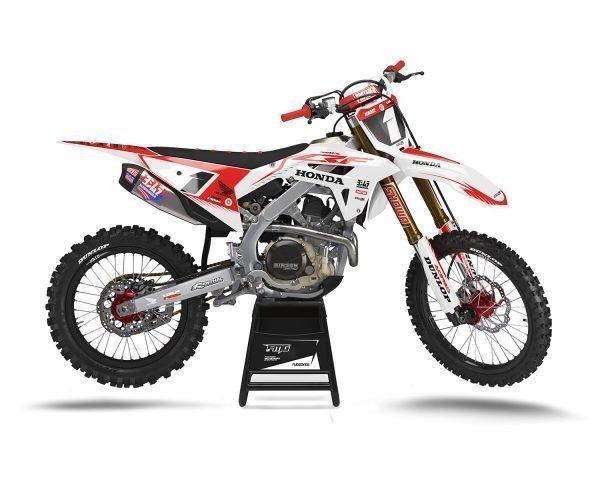 Custom CRF250R 2019 2020 MX Decals