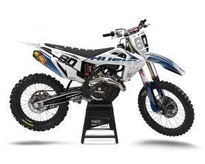 Husqvarna Motocross Graphics Custom UK