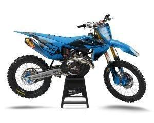 Baby Blue Husqvarna Motocross Graphic