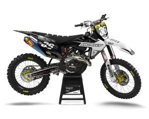 Husqvarna Custom Motocross Decals UK