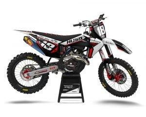 Custom Husky Dirt Bike Graphics
