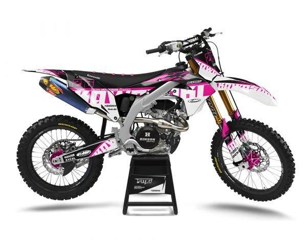 Pink Kawasaki Graphics