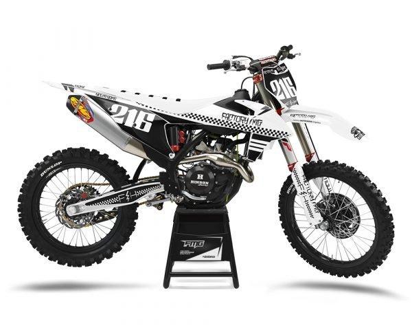 Custom KTM Decals UK