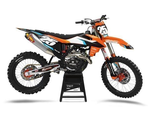 KTM Custom Decals