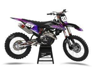 Purple KTM Motocros Graphics