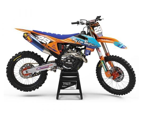 Custom Orange KTM MX Graphics