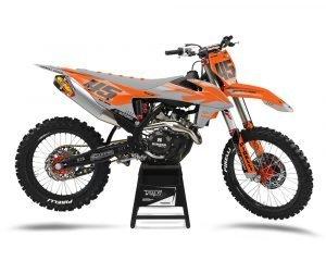 Custom KTM Motocross Graphics UK