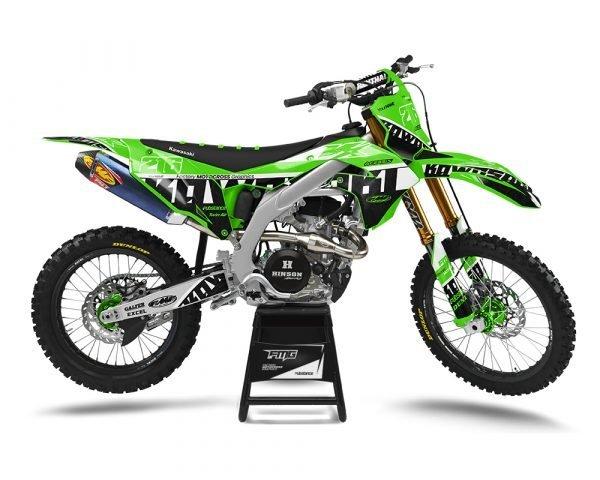 Custom KX Green Graphics Kit