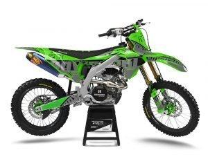 Kawasaki Custom MX Graphics