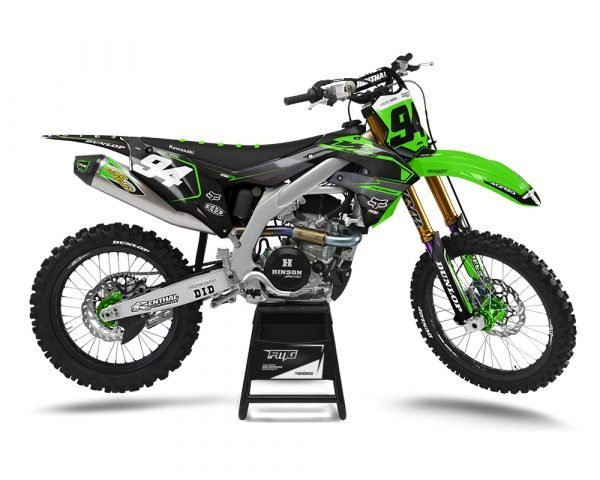 Carbon Green MX Graphics UK