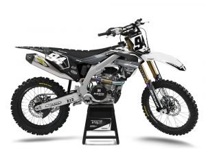 KXF Motocross Graphics White