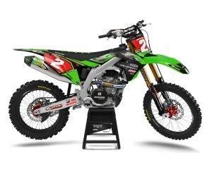 Monster Kawasaki Motocross Decals