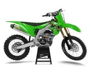 Kawasaki KXF OEM Graphics