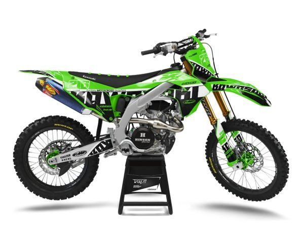 Custom Designed Kawasaki Graphics