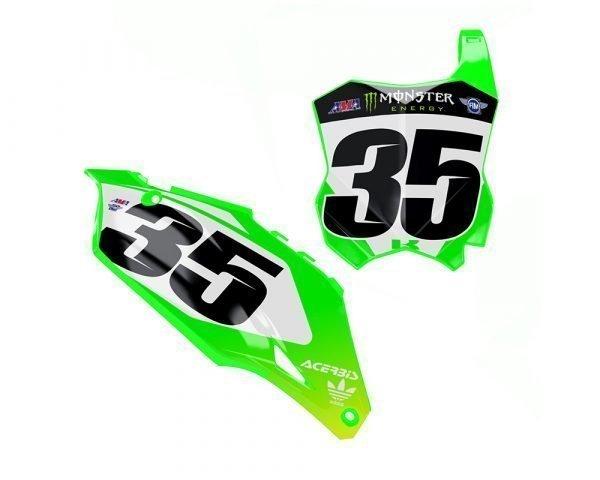 Custom Kawasaki MX Graphics