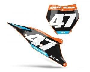 KTM SXF Number Boards