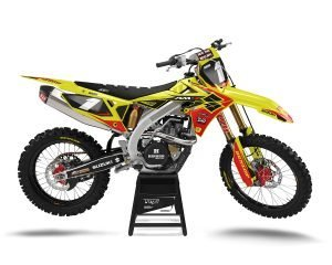 Suzuki RMZ JGR Motocross Graphics