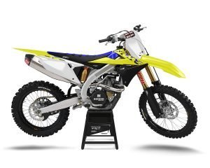 Suzuki Dirt Bike Decals