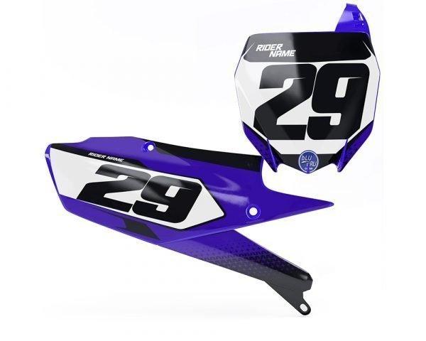 Custom Yamaha Number Plate Decals