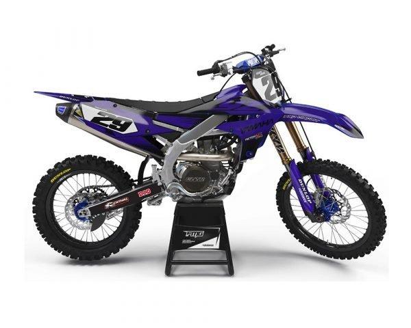 Blue Yamaha Graphics