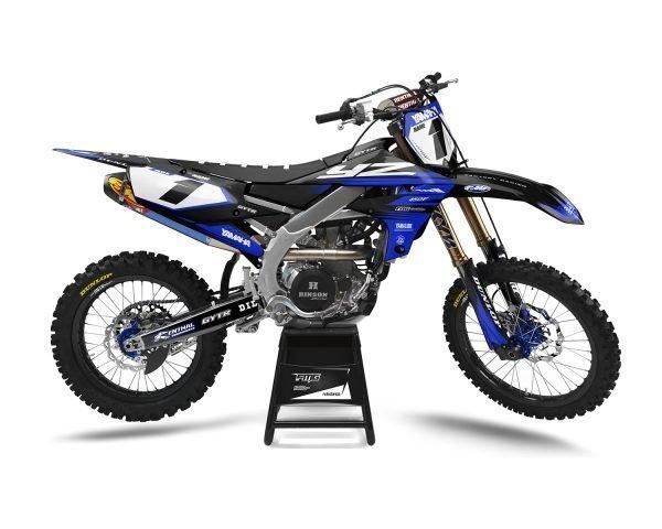 Yamaha Blue Factory Graphics Kit