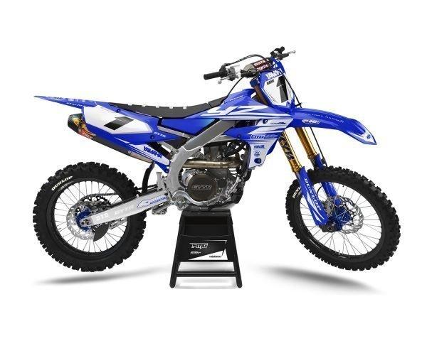 Yamaha YZF Graphics Blue