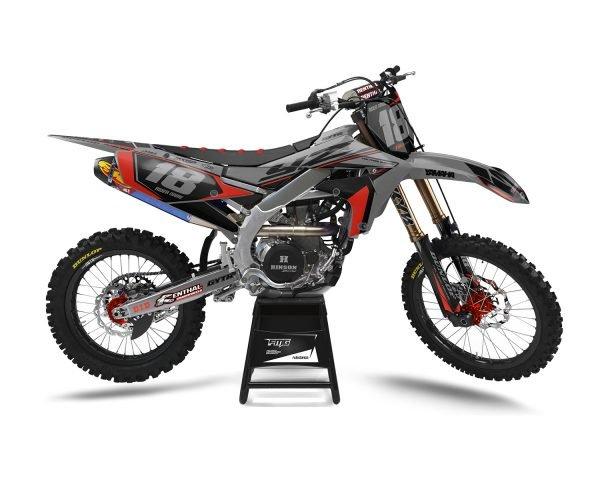 Grey Yamaha MX Graphics UK