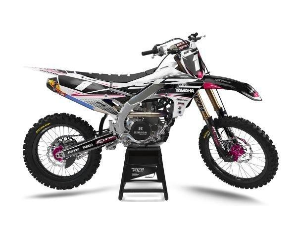 Pink Yamaha YZ250F YZ450F Decals
