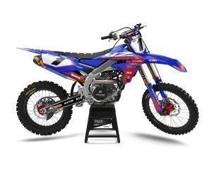 Red Yamaha Motocross Decals