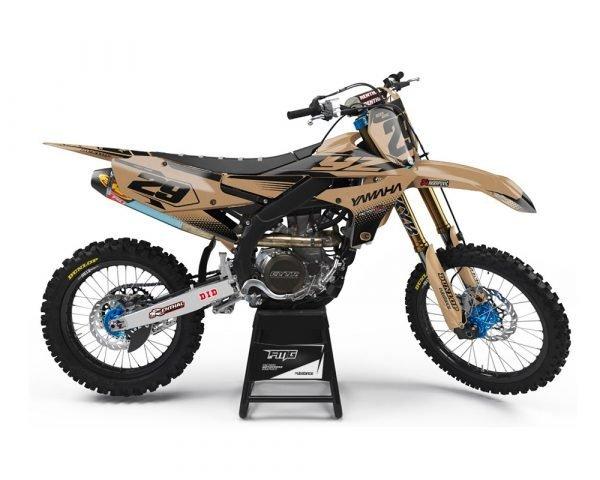 Custom Yamaha Dirtbike Graphics