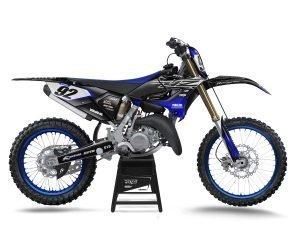 Black Yamaha YZ125 YZ250 Graphics