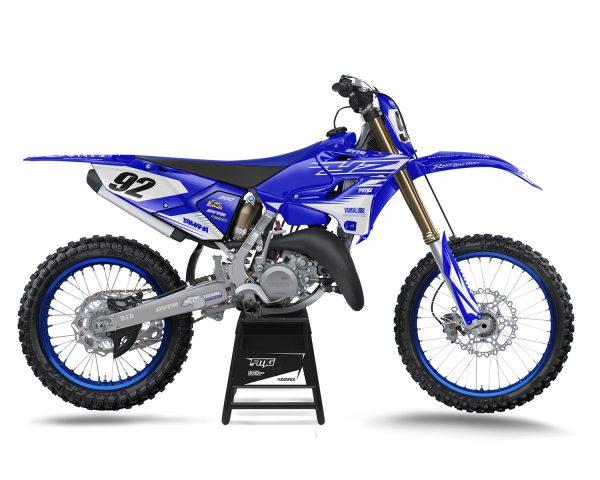 White Yamaha YZ Graphics