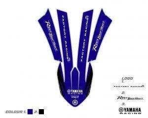 Yamaha Front Fender Graphics